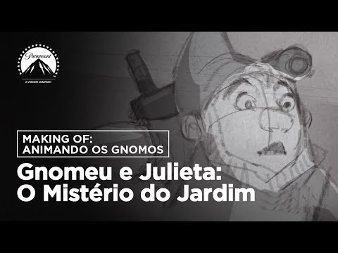 Gnomeu e Julieta: O Mistério do Jardim | Making Of: Animando os gnomos | LEG | Paramount Brasil