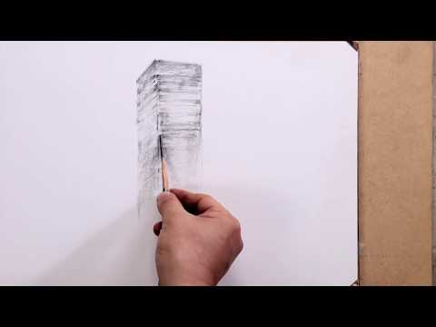 How to draw the distant view building with 4B by Um KyungHo