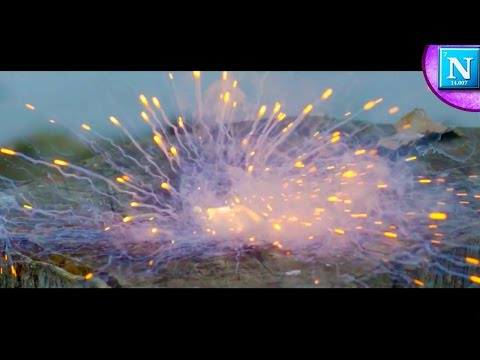 Potassium and Water Explosion