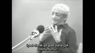 J  Krishnamurti  Kirginlik uzerine   Brockwood Park1976