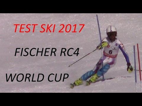 Test Ski Fischer RC4 WC 2017
