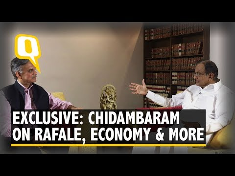 From Rafale to Economy, Modi Govt is Clueless: P Chidambaram | The Quint