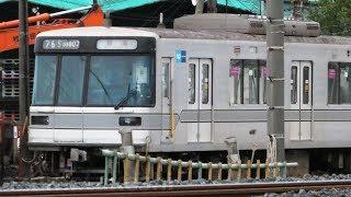 【ついに40編成 廃車 東京メトロ03系 残り2編成に。03-107F 廃車回送】03-107Fは3両譲渡か。解体中モハ03-601に何らかの養生