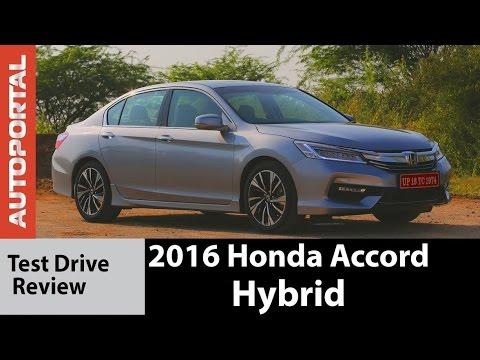 2016 Honda Accord Hybrid Test Drive Review Autoportal