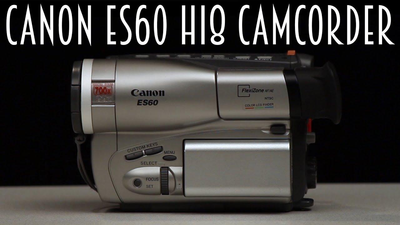 Canon ES60 Hi8 Camcorder (2001)