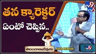 Brahmanandam super speech at Telangana Devudu Movie Audio Release Event - TV9