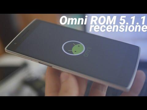 OmniROM 5.1.1 recensione da TuttoAndroid.net