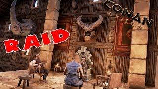 Conan Exiles - РЕЙД КАМИКАДЗЕ (RAID)