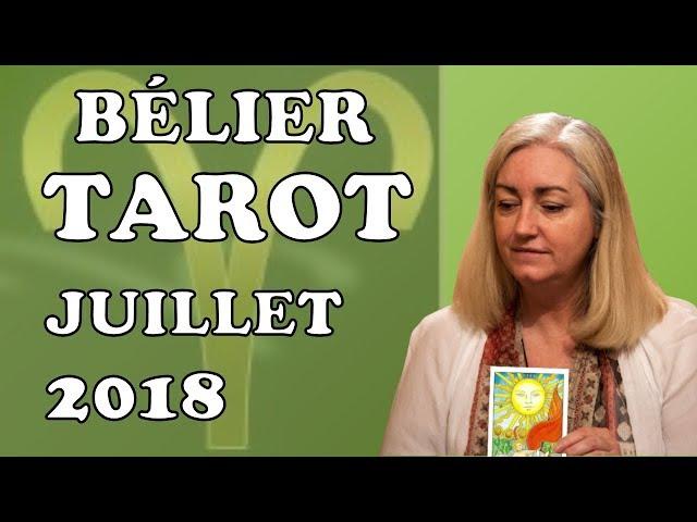 BÉLIER -Tarot Astrologique - Juillet 2018