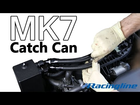 Racingline Catch Can Install on a MK7