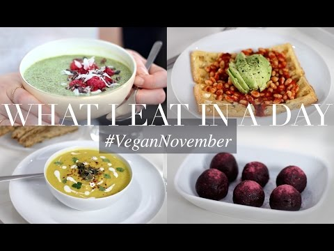 What I Eat in a Day #VeganNovember 15 (Vegan/Plant-based) | JessBeautician