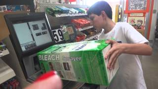 Using the self checkout at Home Depot in Henrietta, NY