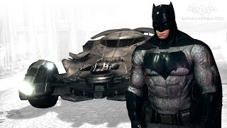 Batman: Arkham Knight - Batman v Superman Batmobile & Skin Pack (Free Roam Gameplay)