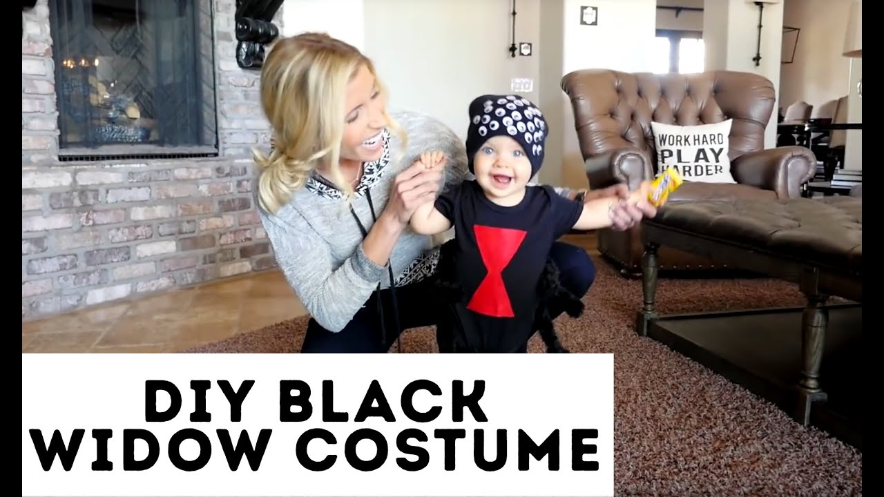 Diy Spider Halloween Costume Youtube