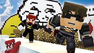 THE CHRONICLES OF MAD DAD MAX! | Minecraft Mini-Game X-RUN! /w Facecam