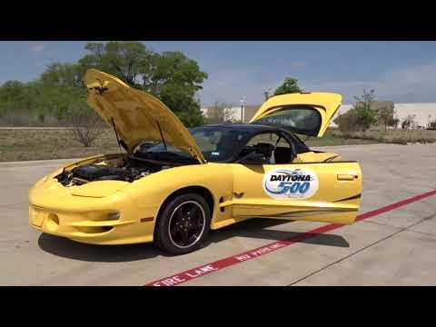 2002 Pontiac Firebird Trans Am WS6 Collector's Edition #584-DFW Gateway Classic Cars of Dallas