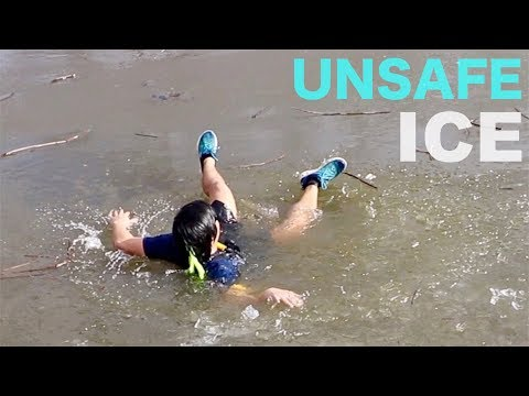 ICE FISHING FOR DUMMIES!!! (what not to do... tutorial)