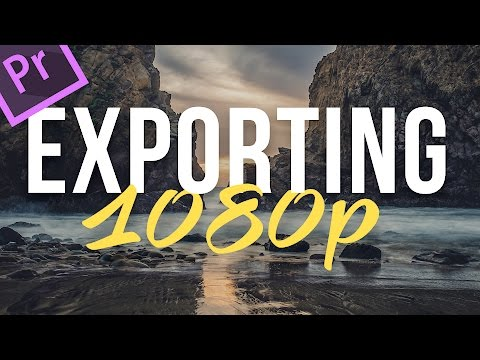 How to export in Premiere Pro CC - 2 minute tuts