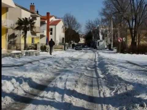 Benkovac u snjeznoj idili Februar 2012 !!!