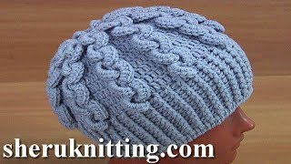 How to Crochet Hat Tutorial 176
