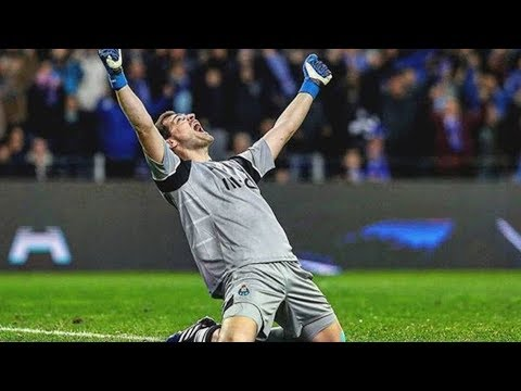 Iker Casillas - Impossible Saves & Great Moments 2016/17 HD