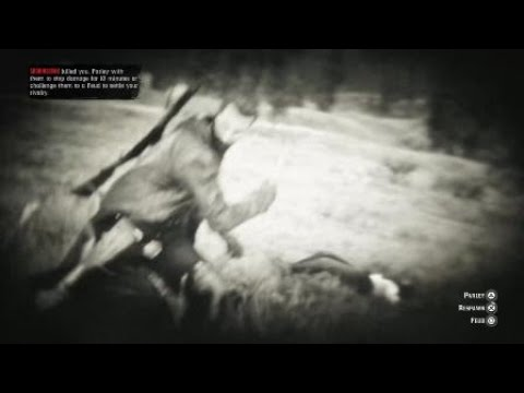 Red Dead Redemption 2 ghost tackle