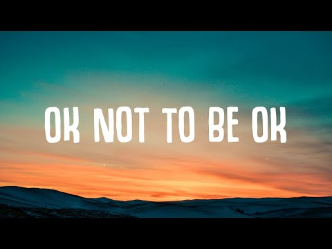 Marshmello & Demi Lovato - OK Not To Be OK (Lyrics)
