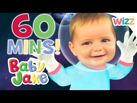 Baby Jake 60 mins | Yacki Yacki Yoggi Song | 1 Hour Kids Cartoons