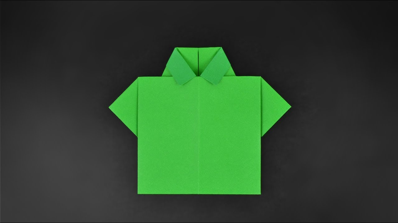 Origami t shirt instructions in english br youtube origami t shirt instructions in english br jeuxipadfo Gallery