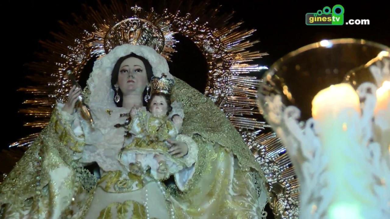 Procesión de Nuestra Señora del Rosario y Santa Rosalía - Gines 2017