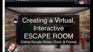 Google Slides Bitmoji Escape Room Tutorial Youtube