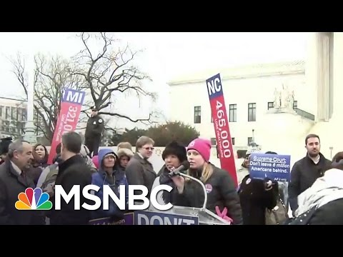 Nationwide Resistance Hurt GOP Anti-ACA Plan | Rachel Maddow | MSNBC