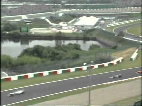 Formula 1 Japanin Grand Prix 2000 lähtö