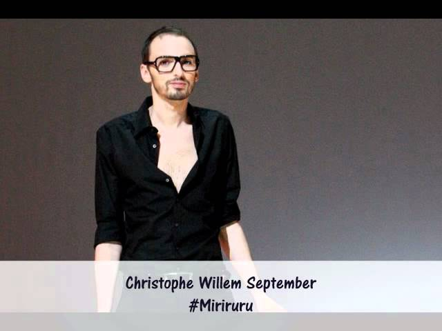 Christophe Willem September
