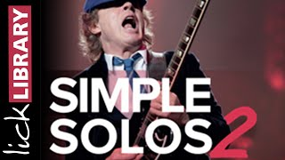 Guitar Lessons Course |  Learn To Play | Simple Solos Vol 2