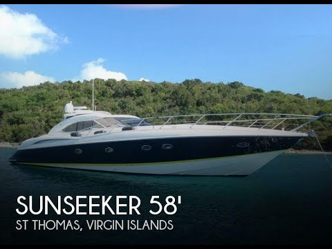 Used 2000 Sunseeker Predator 58 for sale in St Thomas, Virgin Islands