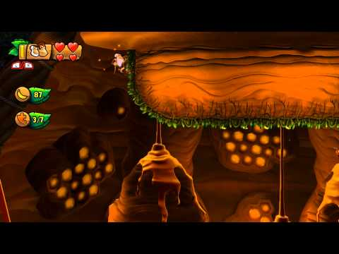 Donkey Kong Country: Tropical Freeze - 5-A Beehive Brawl (100%)