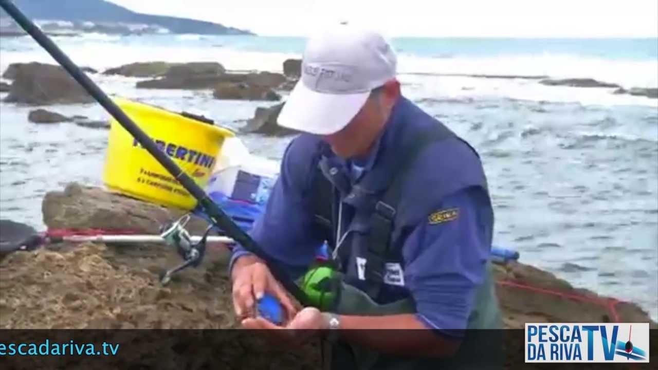 pesca dalla riva
