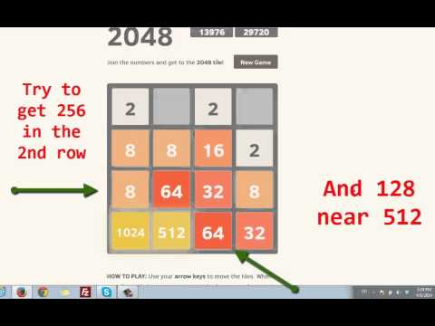 how to win 2048 game cheat