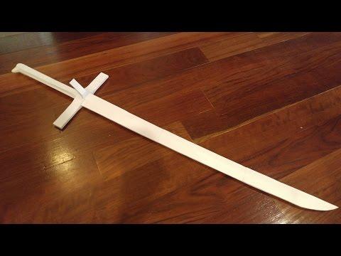 how to make a samurai sword paper