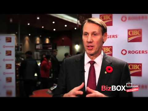 CIBC Rogers : First Mobile Credit Card Transaction In Canada  - Smartphone Payments