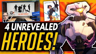 Overwatch 2 | Jeff Teases 4 Unrevealed Heroes & More Progression Systems Coming!