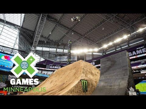 Moto X QuarterPipe High Air: FULL BROADCAST | X Games Minneapolis 2018