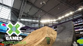 Moto X QuarterPipe High Air: FULL BROADCAST | X Games Minneapolis 2018