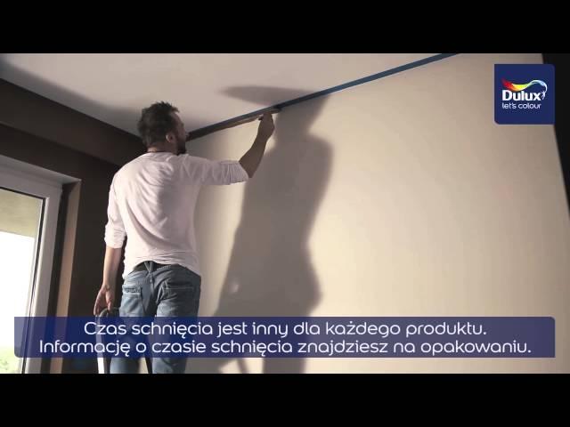 Jak pomalować ściany, jak pomalować sufit - Maluj z Duluxem