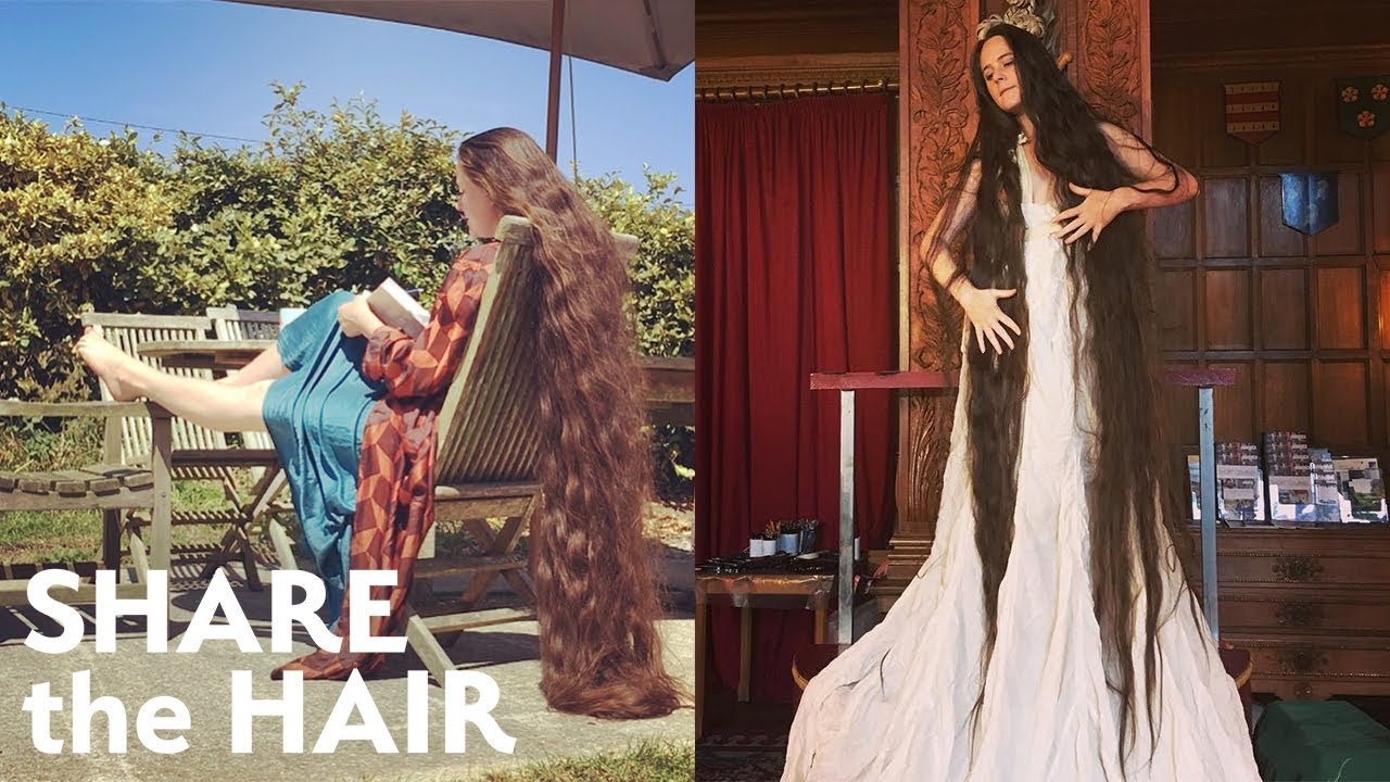Real-Life Rapunzel And Her Six-Foot Hair