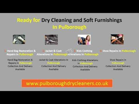 Dry Cleaning and Soft Furnishings