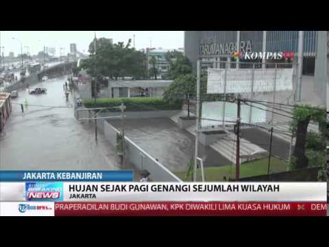 Diguyur Hujan Deras, Jakarta Dikepung Banjir Mp3