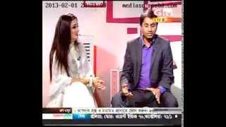 Dr  Shamim with Model Ruma