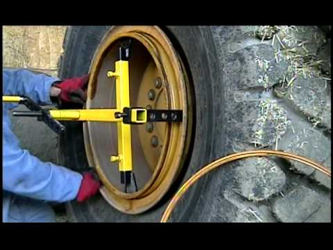 Ring Master   Change Large Tires In 47min Instead Of 120 Min   Installing  Large Tires   YouTube